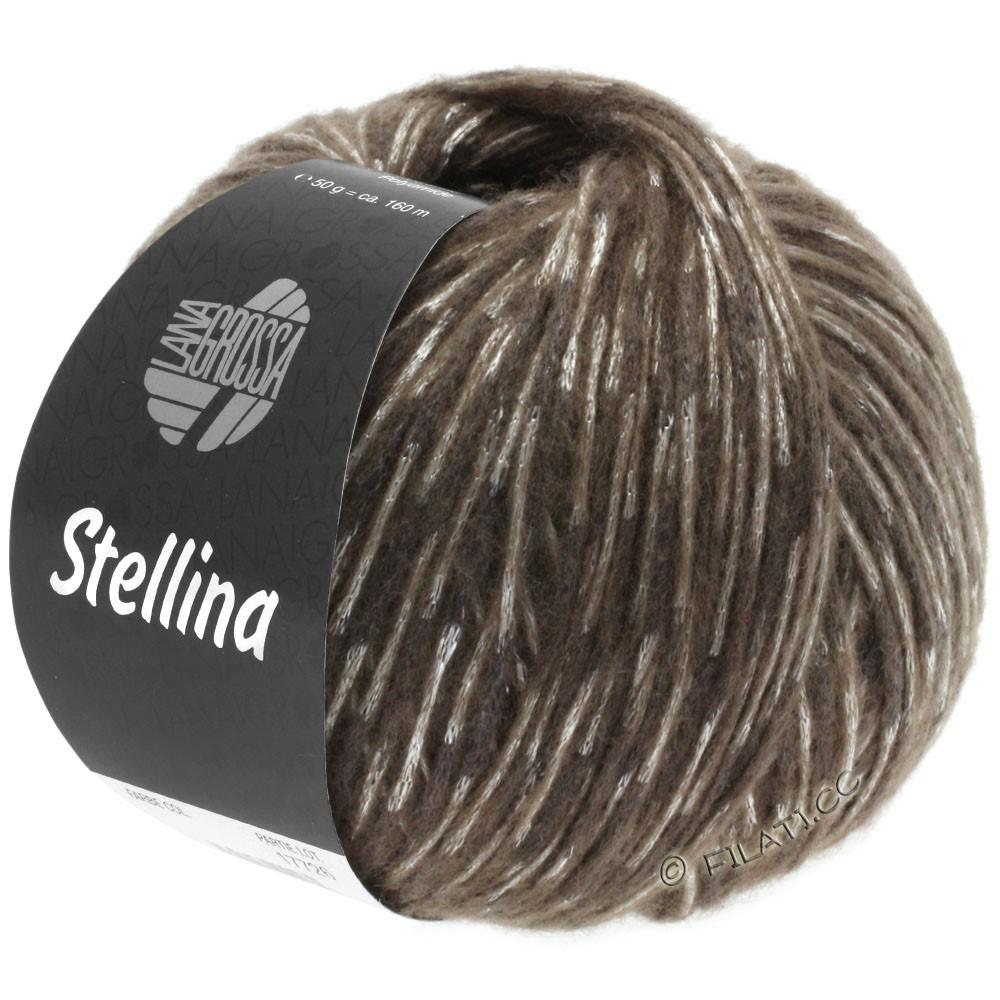 Lana Grossa STELLINA | 12-donker bruin/beige