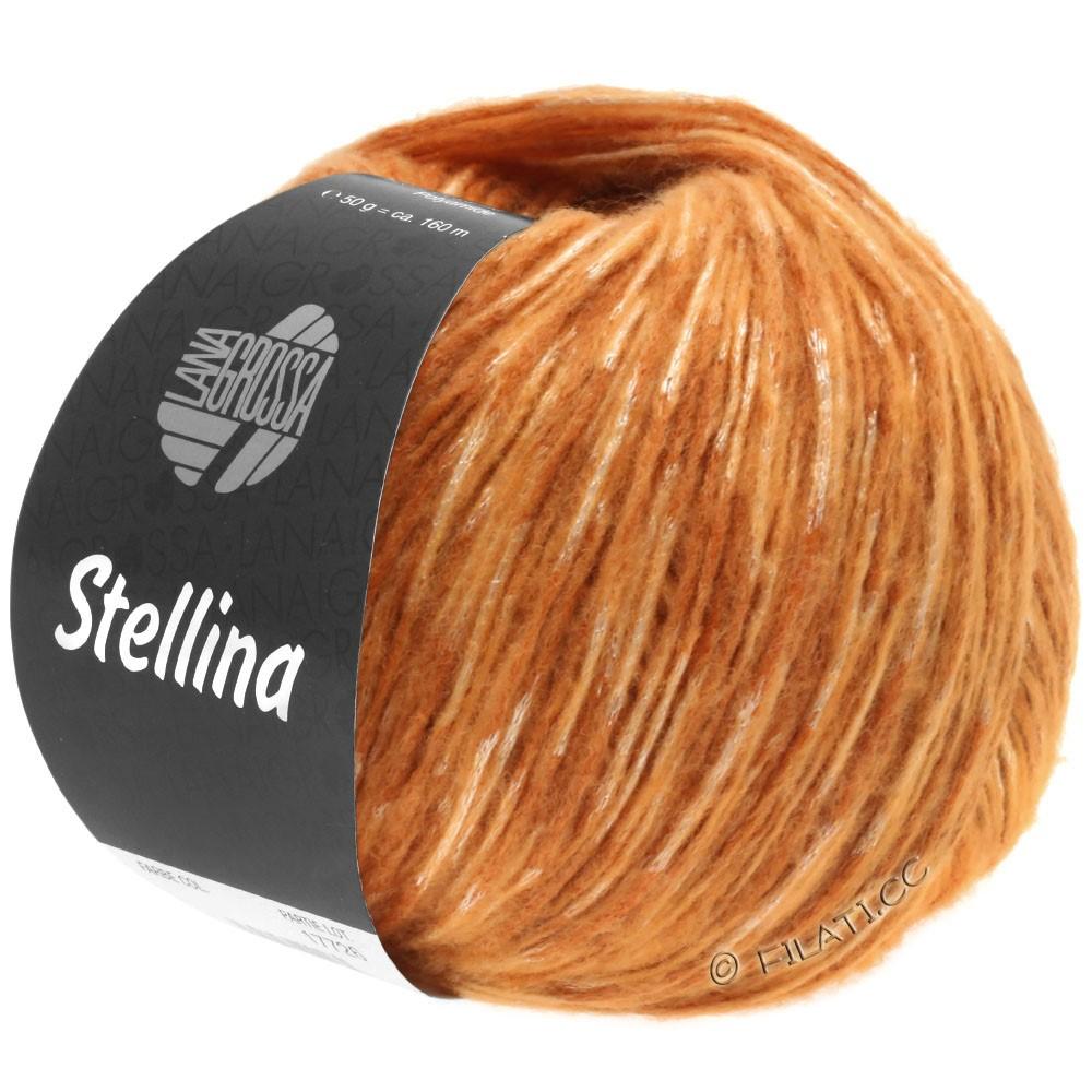 Lana Grossa STELLINA | 17-cognac/oranje