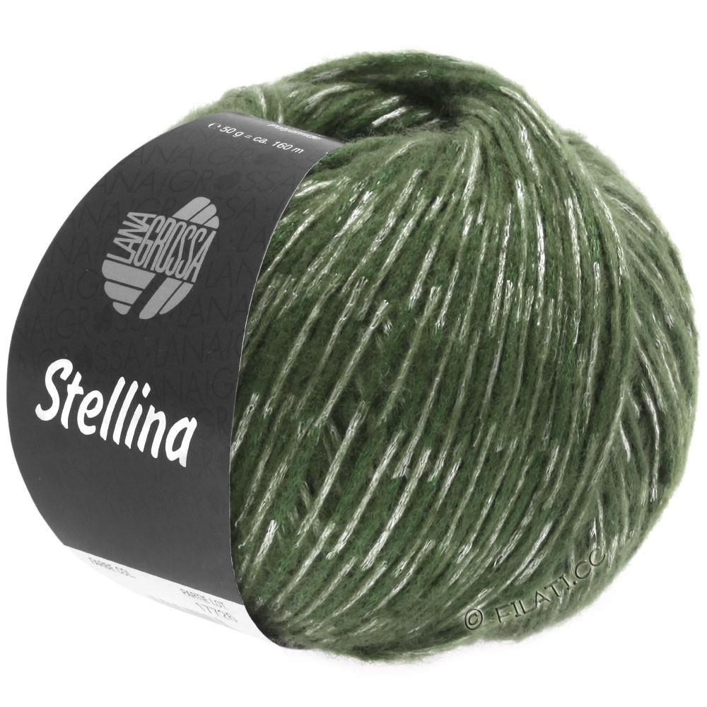 Lana Grossa STELLINA | 19-resedagroen/grijs groen