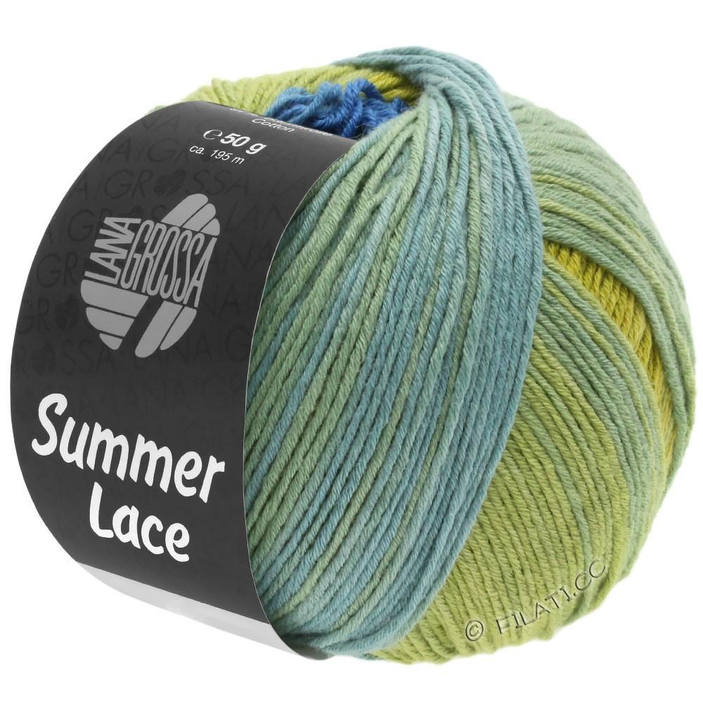 Lana Grossa SUMMER LACE DEGRADÉ | 104-geel/blauw/jade groen