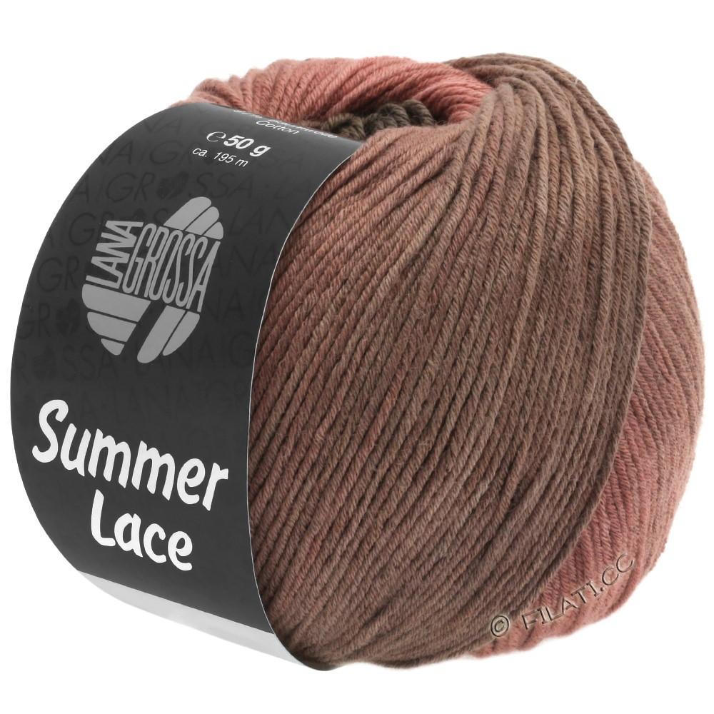 Lana Grossa SUMMER LACE DEGRADÉ | 106-terracotta /chocoladebruin/beigebruijn