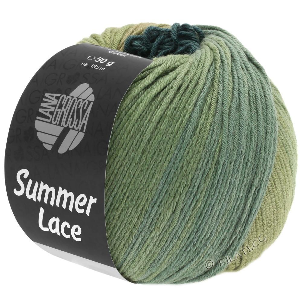 Lana Grossa SUMMER LACE DEGRADÉ | 107-riet/kaki/grijs groen