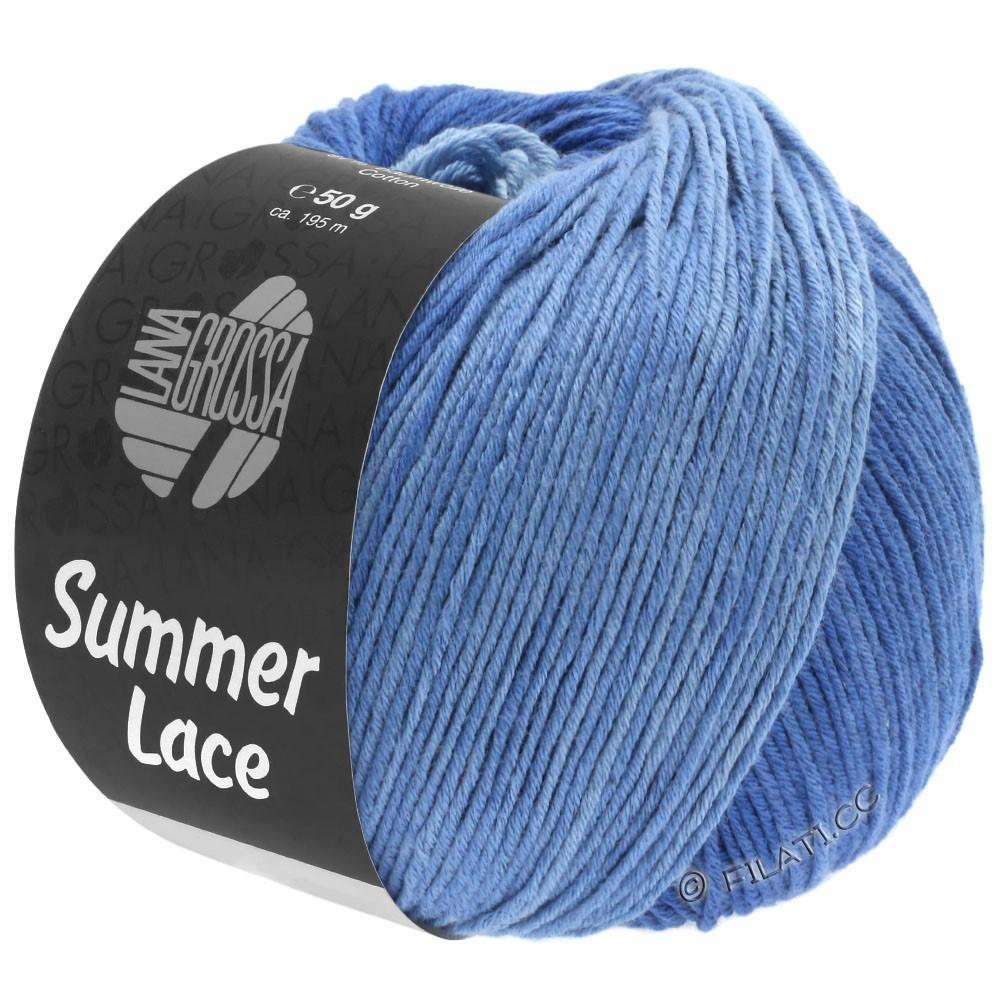 Lana Grossa SUMMER LACE DEGRADÉ | 108-licht blauw/midden blauw/donker blauw