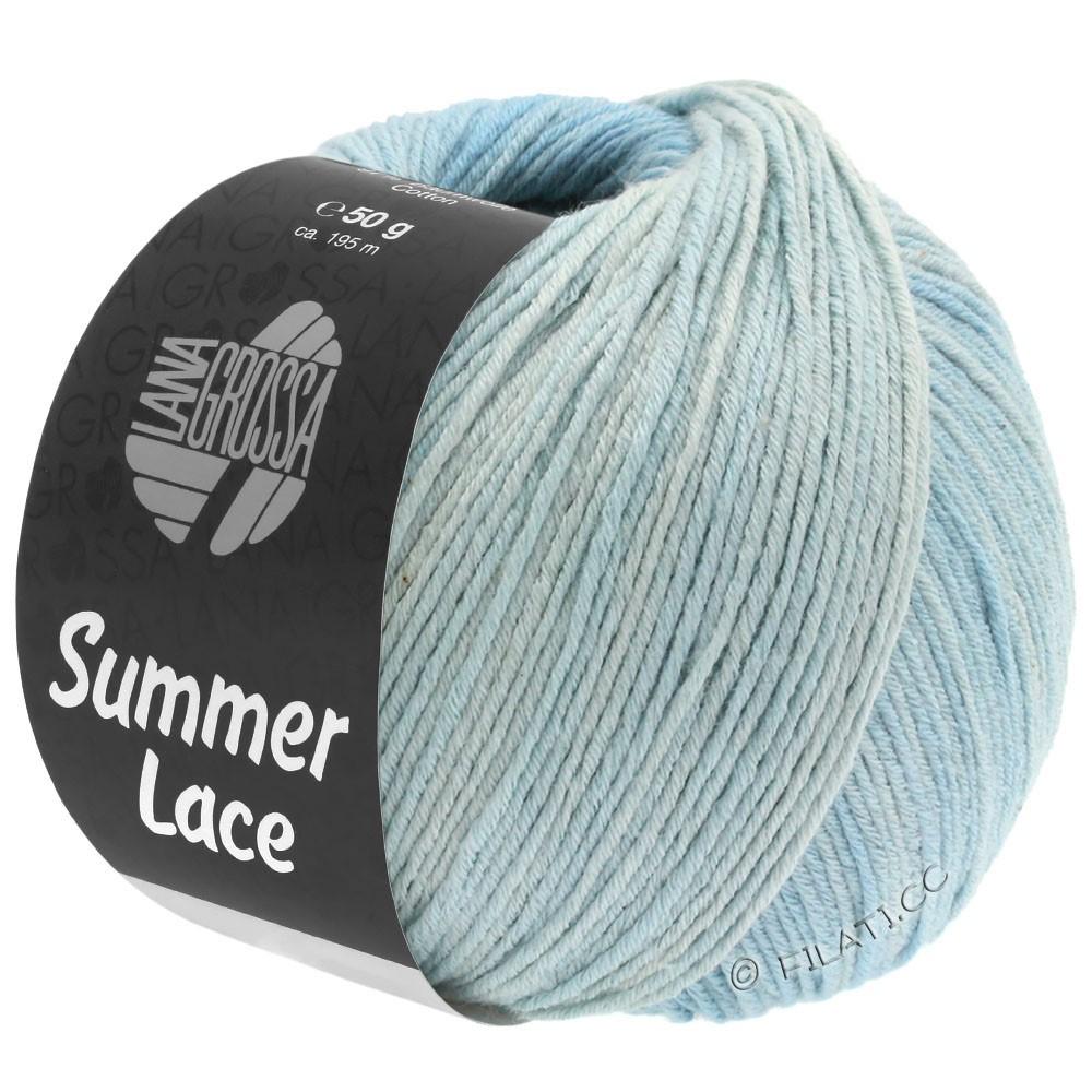 Lana Grossa SUMMER LACE DEGRADÉ | 109-natuur/pastelblauw/licht blauw