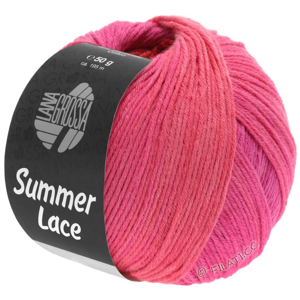Lana Grossa SUMMER LACE DEGRADÉ | 111-cyclaam/felroze/rood