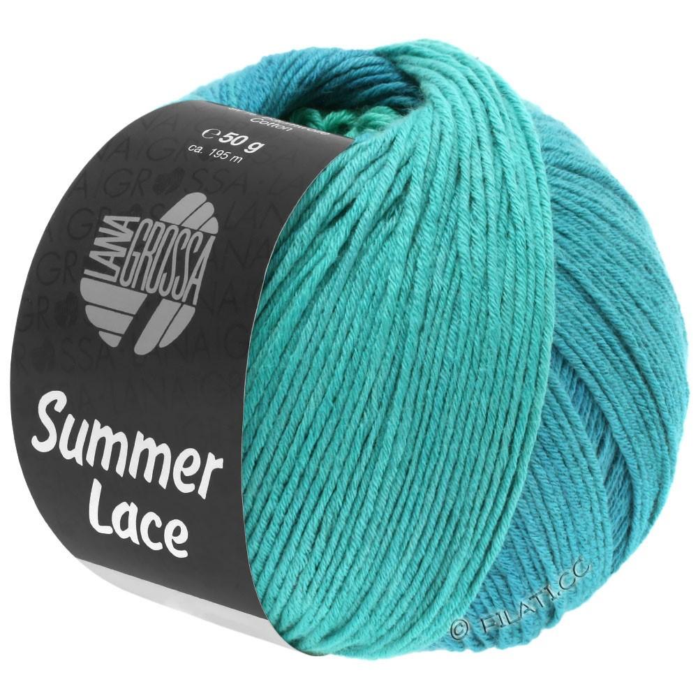 Lana Grossa SUMMER LACE DEGRADÉ | 113-turkoois/petrol blauw/petrol groen