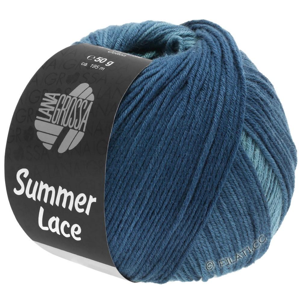 Lana Grossa SUMMER LACE DEGRADÉ | 114-petrol groen/grijs blauw/donker petrol
