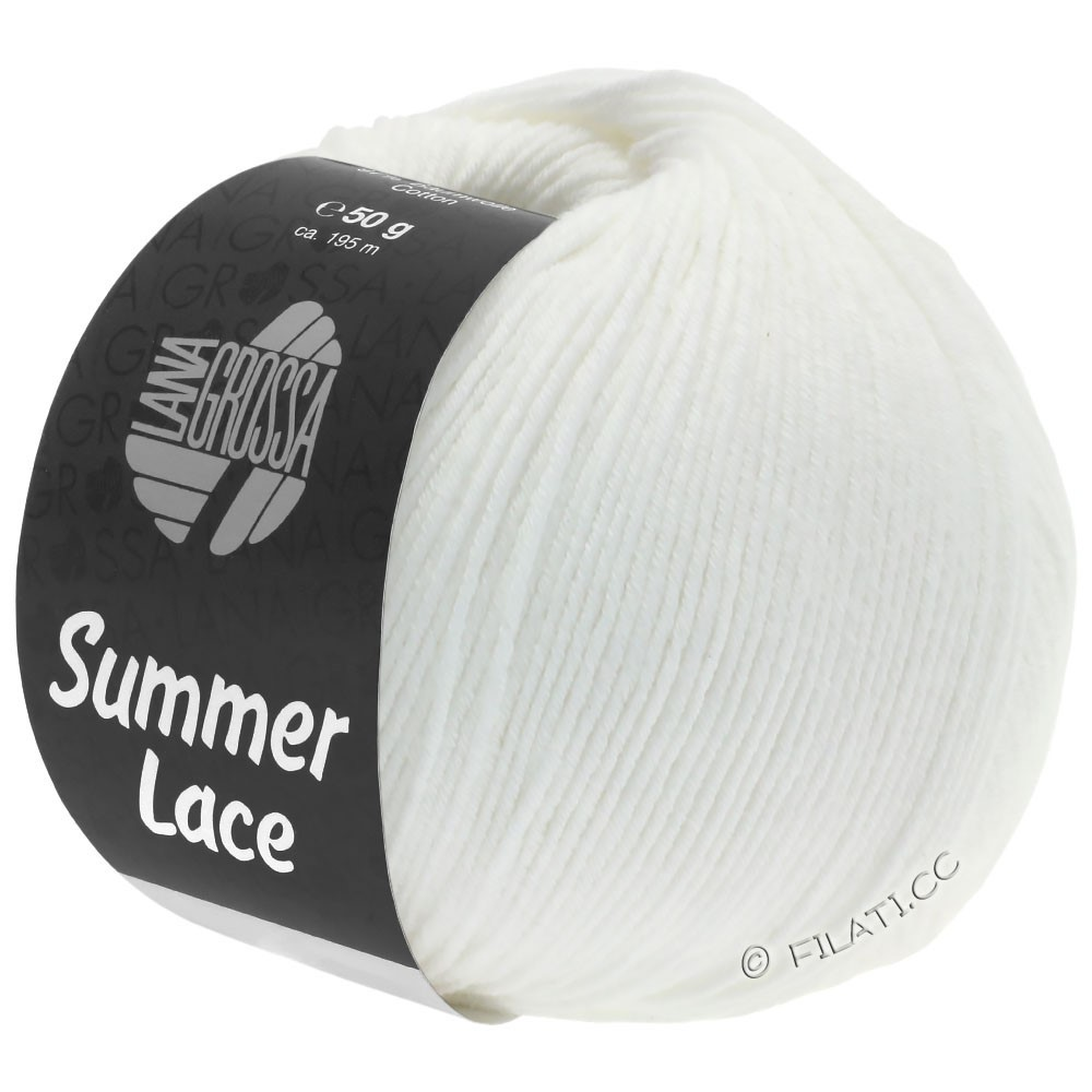 Lana Grossa SUMMER LACE | 01-wit