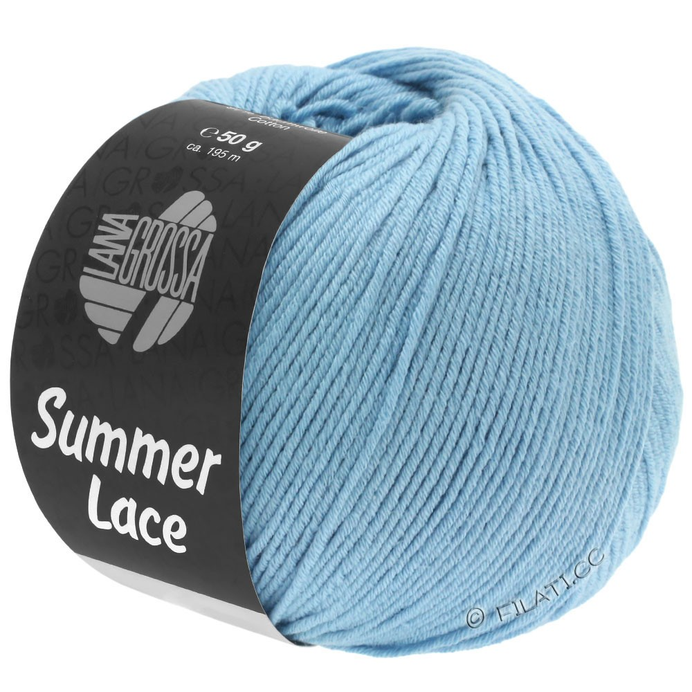 Lana Grossa SUMMER LACE | 06-licht blauw