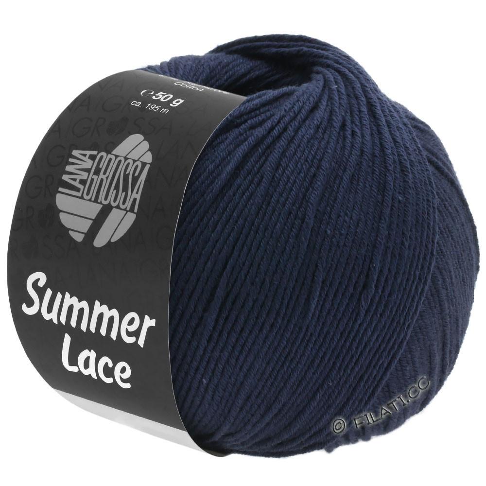 Lana Grossa SUMMER LACE | 15-nacht blauw