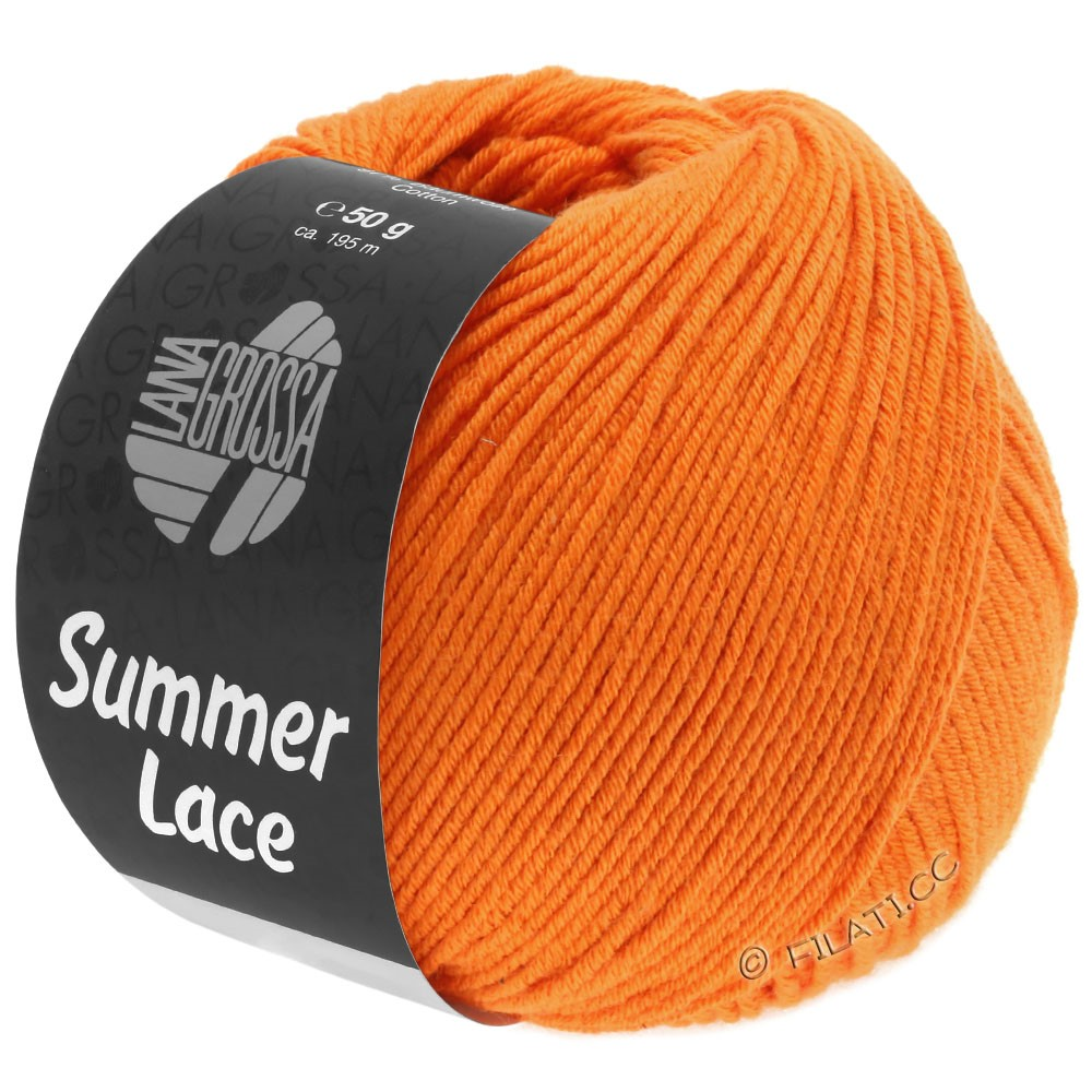 Lana Grossa SUMMER LACE | 17-oranje