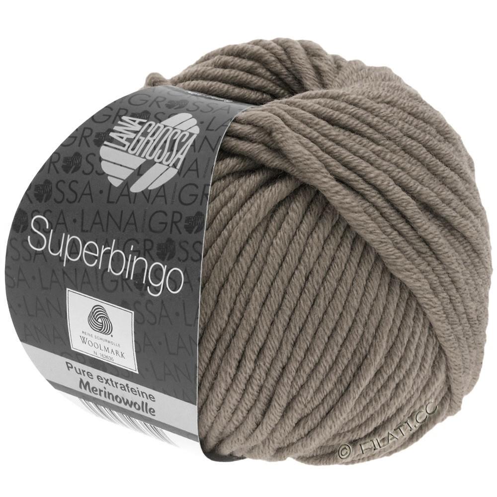 Lana Grossa SUPERBINGO | 004-grijs bruin