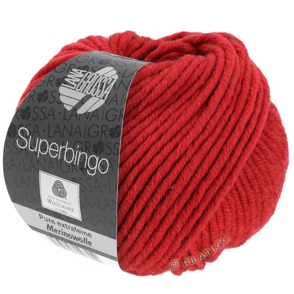 Lana Grossa SUPERBINGO | 006-donker rood