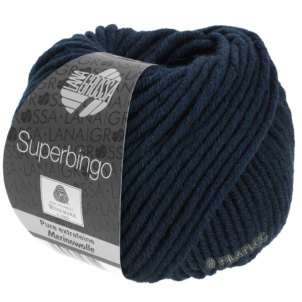 Lana Grossa SUPERBINGO | 011-nacht blauw