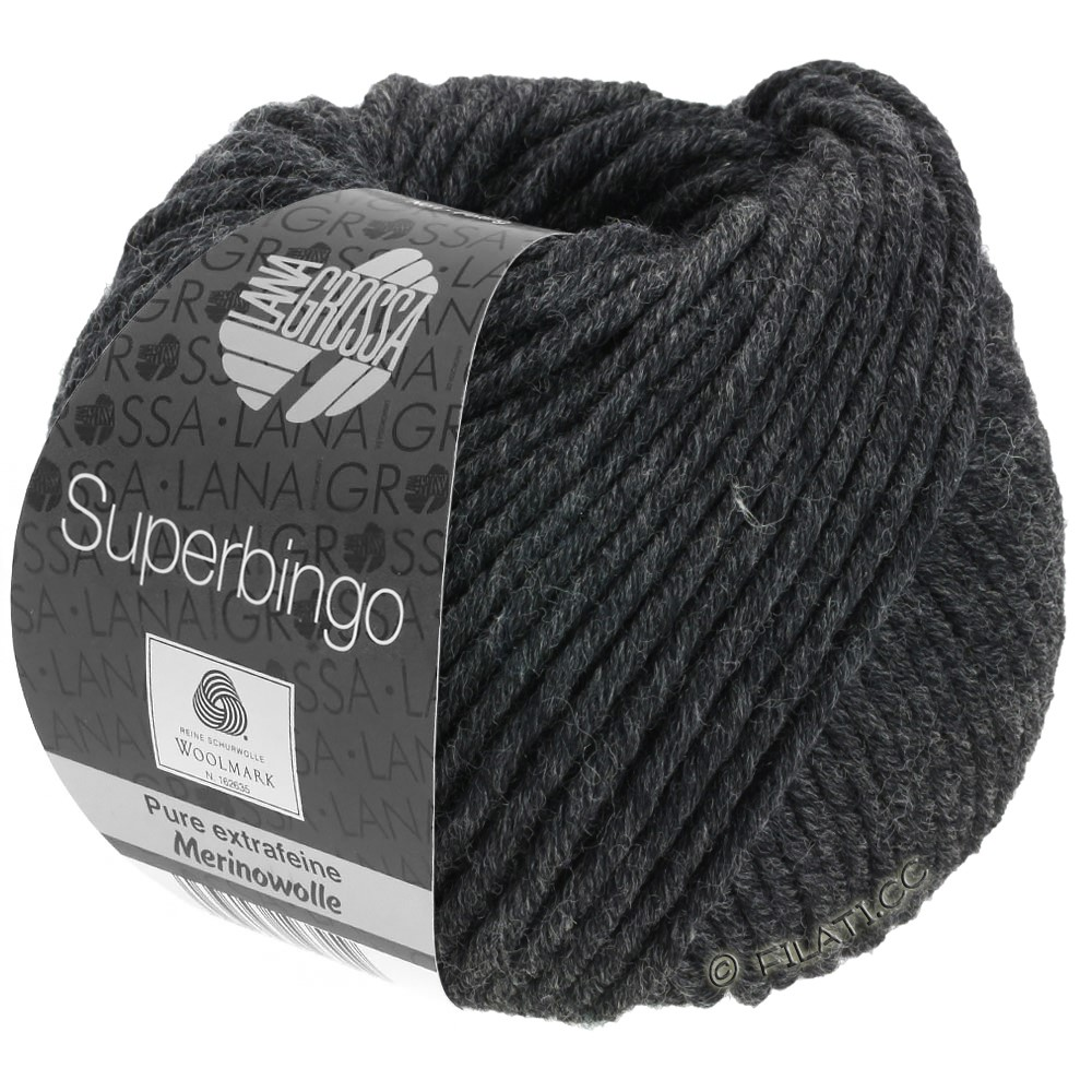 Lana Grossa SUPERBINGO | 015-antraciet