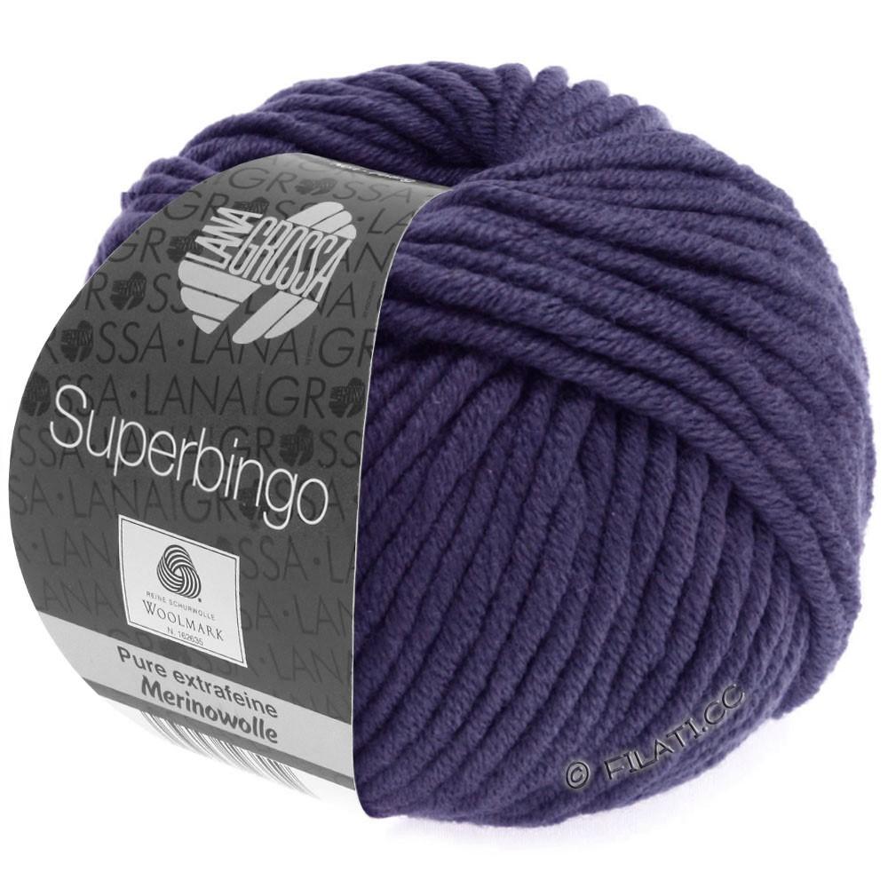 Lana Grossa SUPERBINGO | 065-donker violet
