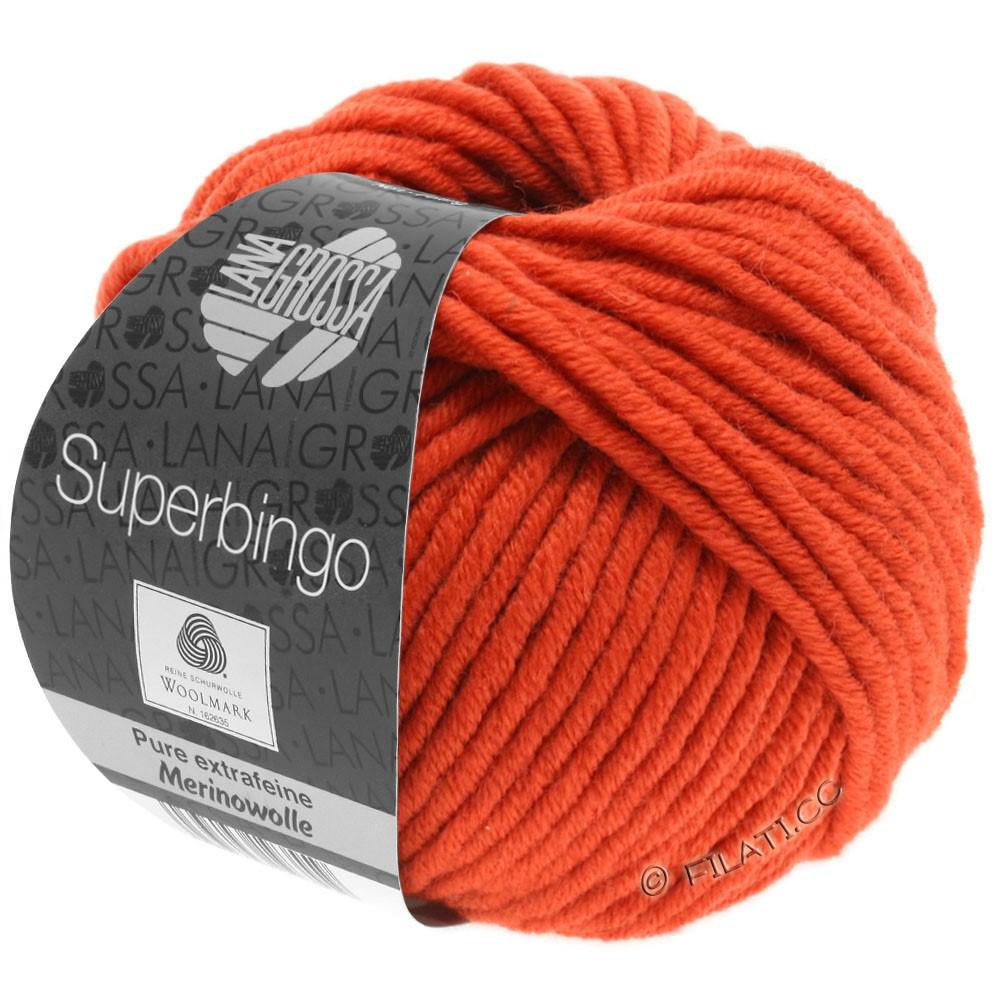 Lana Grossa SUPERBINGO | 066-oranjerood