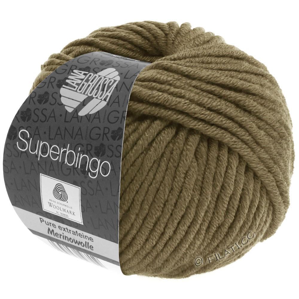 Lana Grossa SUPERBINGO | 070-olijf bruin