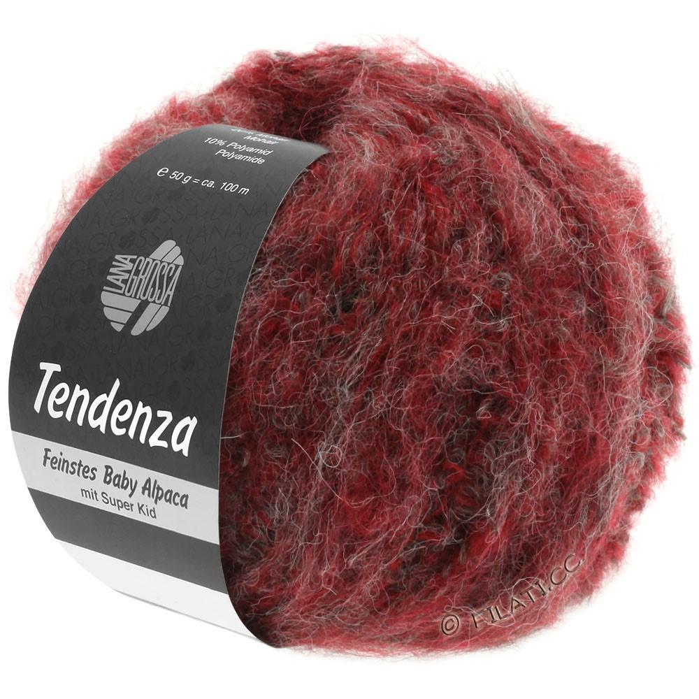 Lana Grossa TENDENZA   003-rood/grijs
