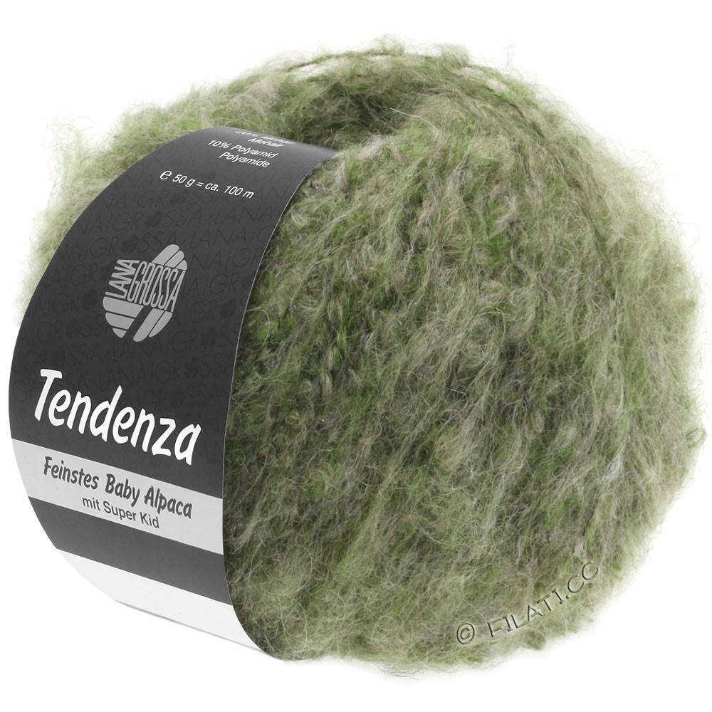 Lana Grossa TENDENZA | 007-groen/beige