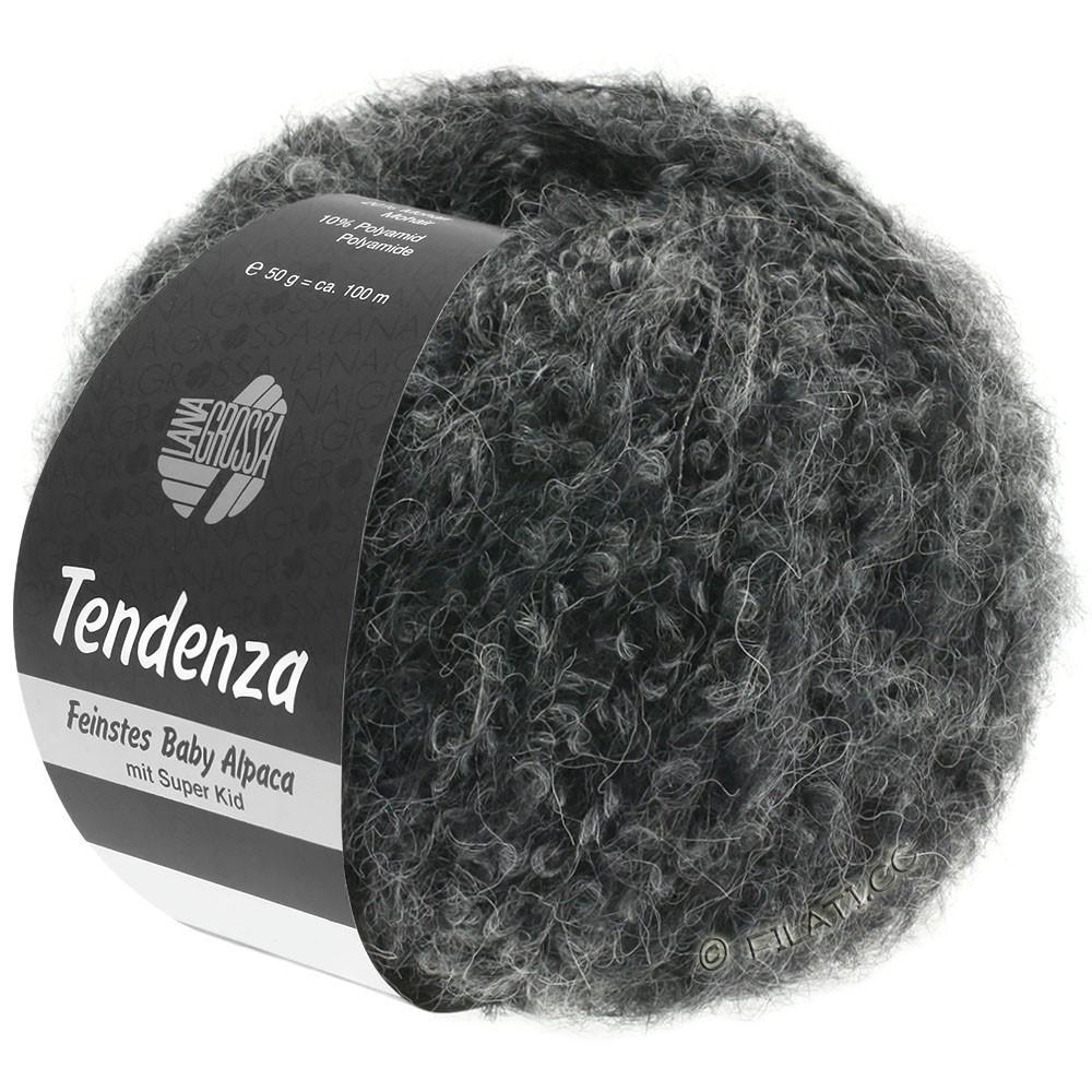 Lana Grossa TENDENZA | 010-zwart/grijs