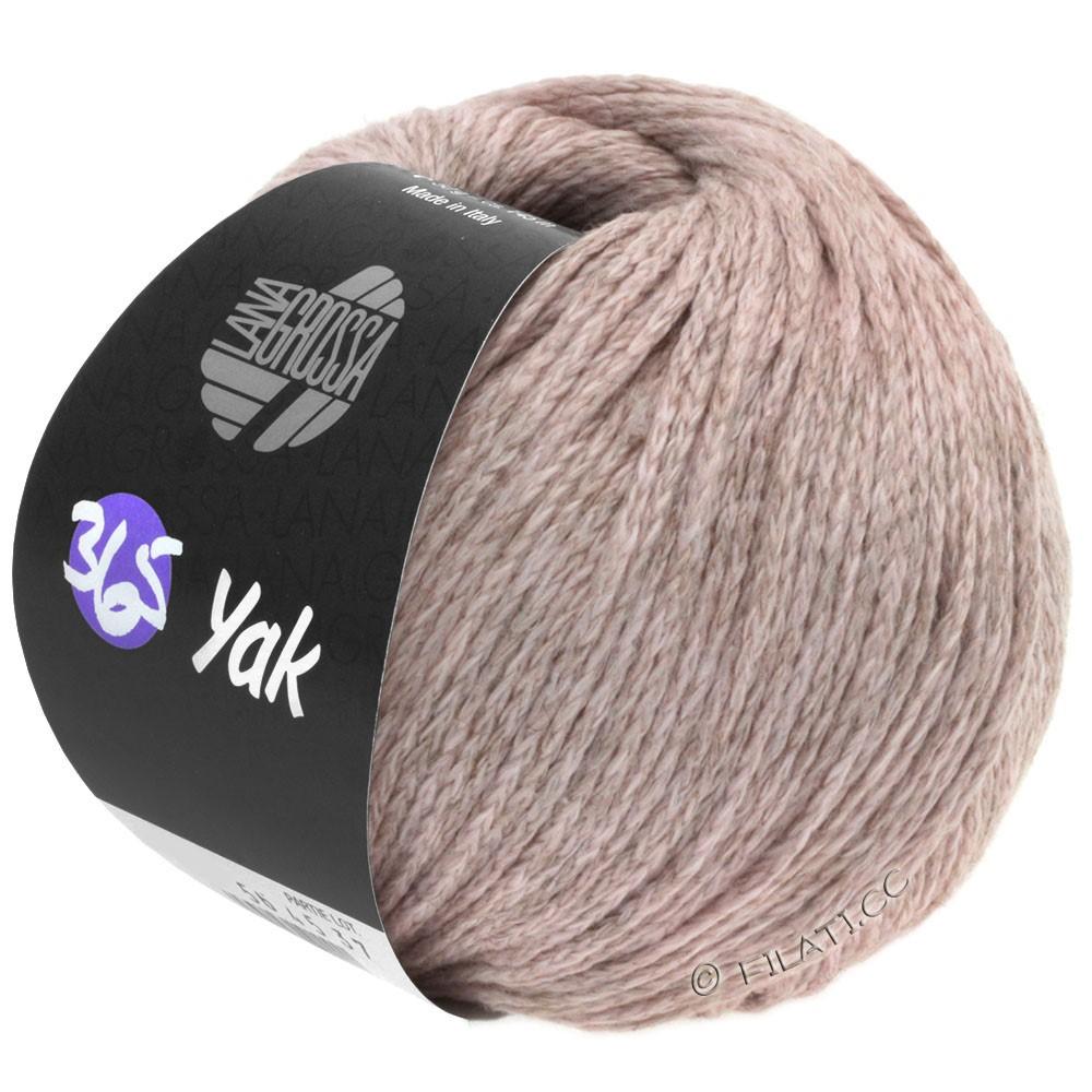 Lana Grossa 365 YAK   04-pastelviolet/platinagrijs