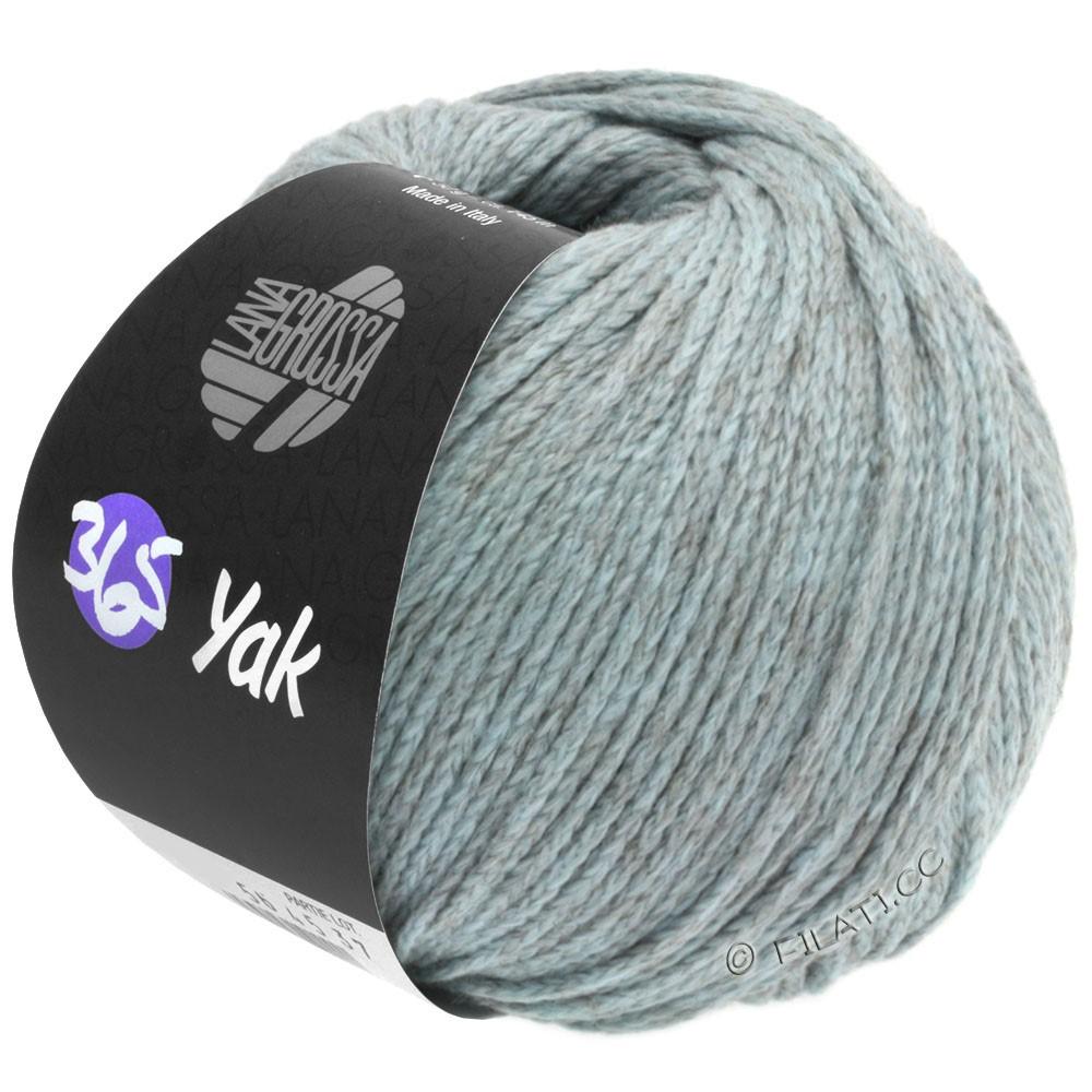 Lana Grossa 365 YAK   08-licht blauw/grijs