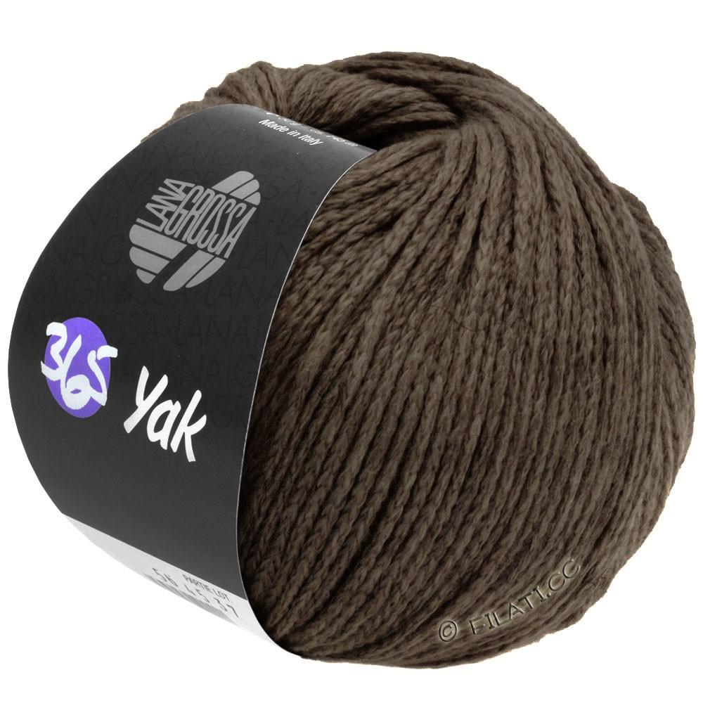 Lana Grossa 365 YAK   28-donker bruin