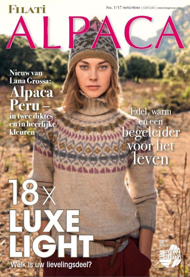 Lana Grossa ALPACA Uitgave 1 (NL)