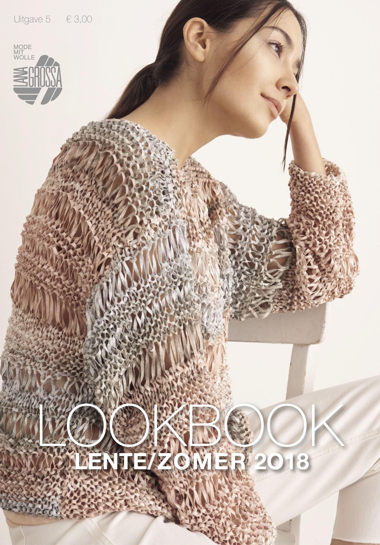 Lana Grossa LOOKBOOK Uitgave 5 - Lente/Zomer 2018 (NL)