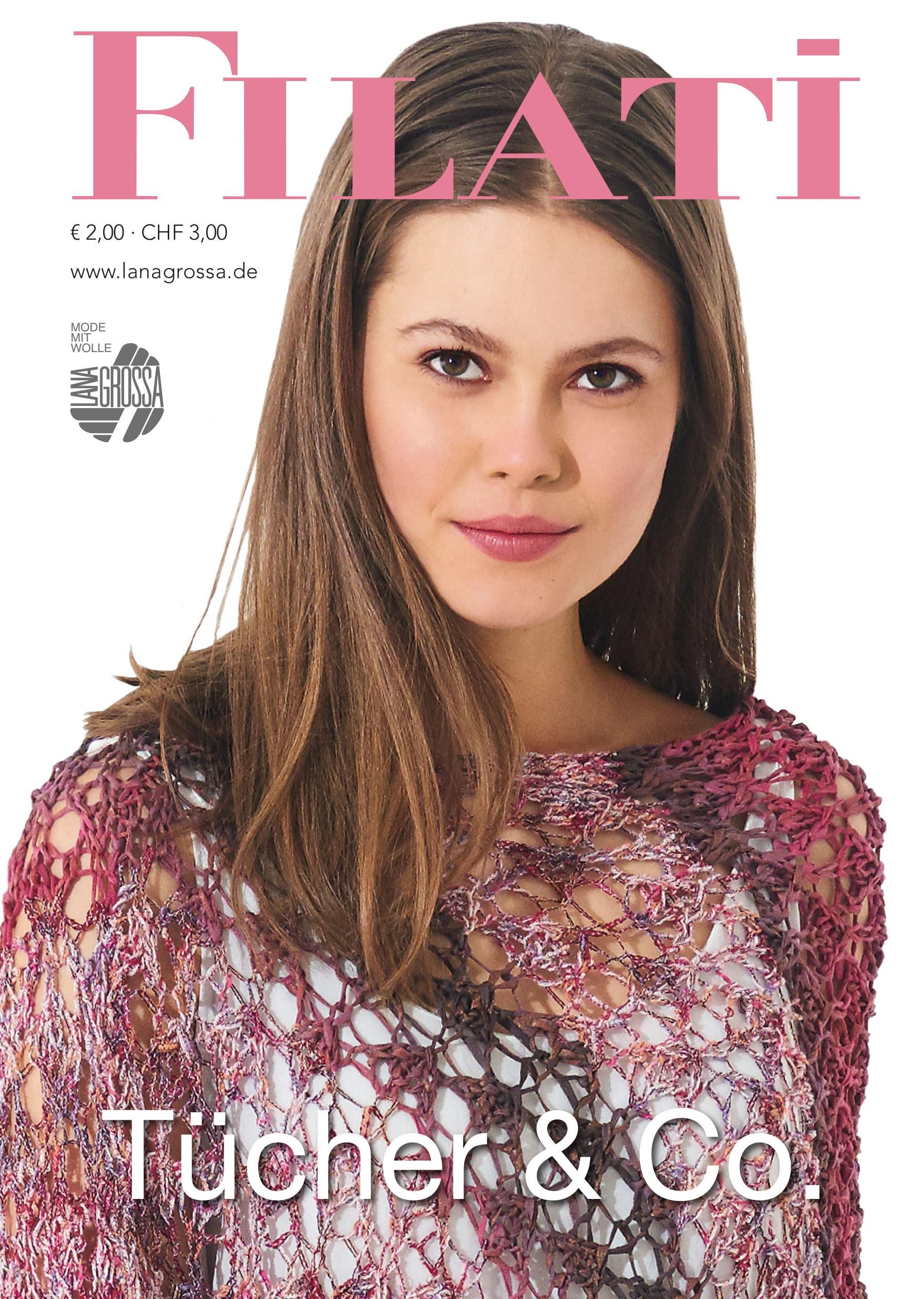 Lana Grossa FILATI Tücher & Co. - Tijdschrift (DE) + Breibeschrijvingen (NL)