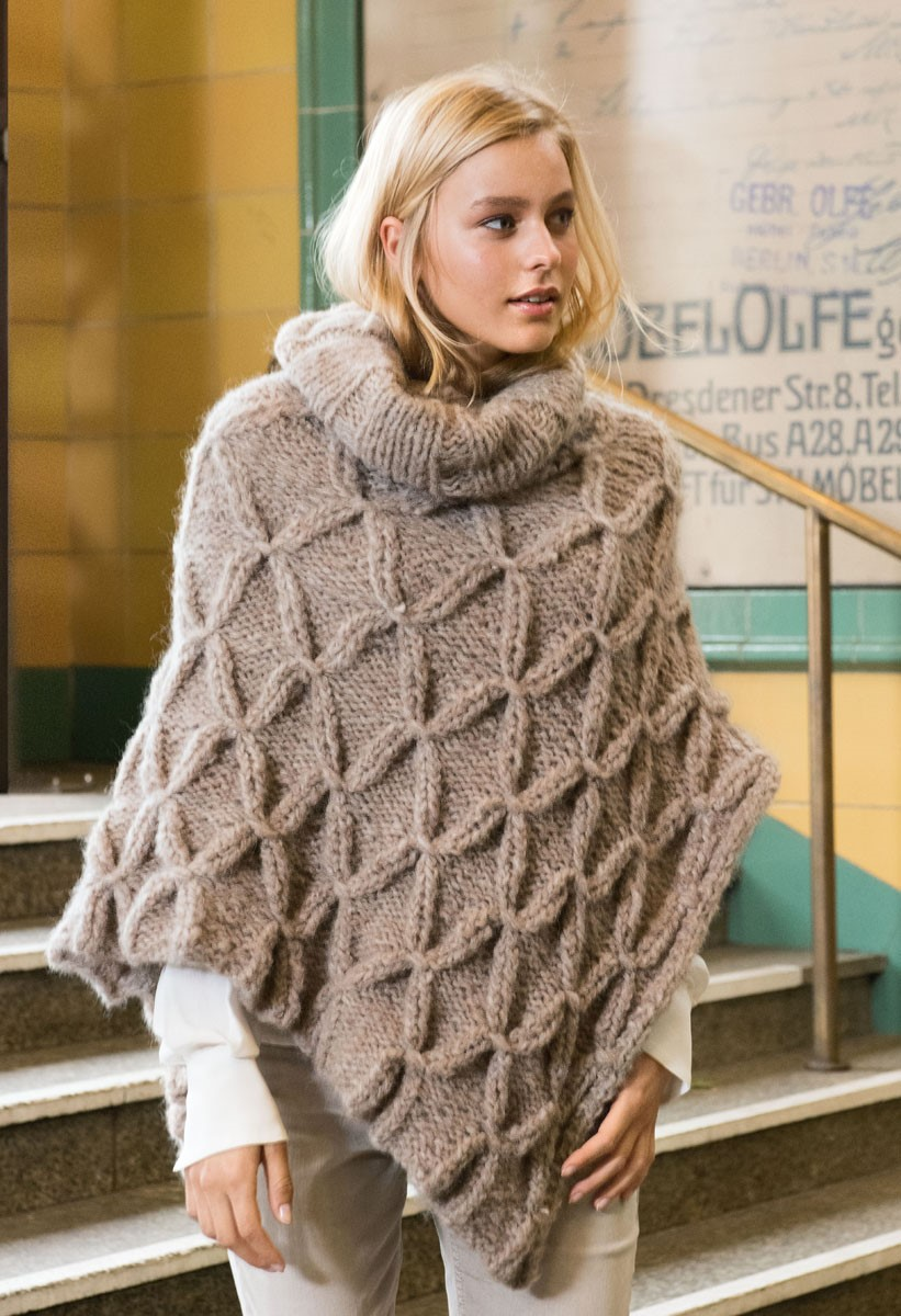 Lana Grossa PONCHO Cloud