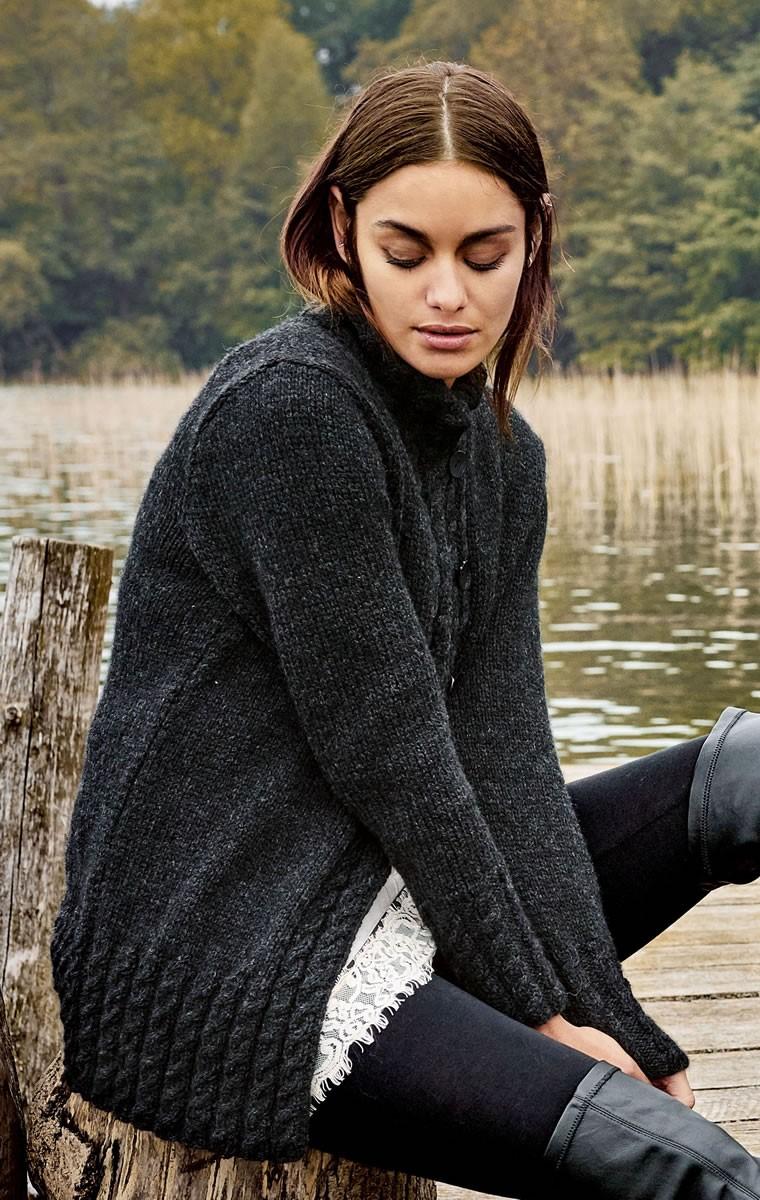 Lana Grossa VEST Alta Moda Alpaca