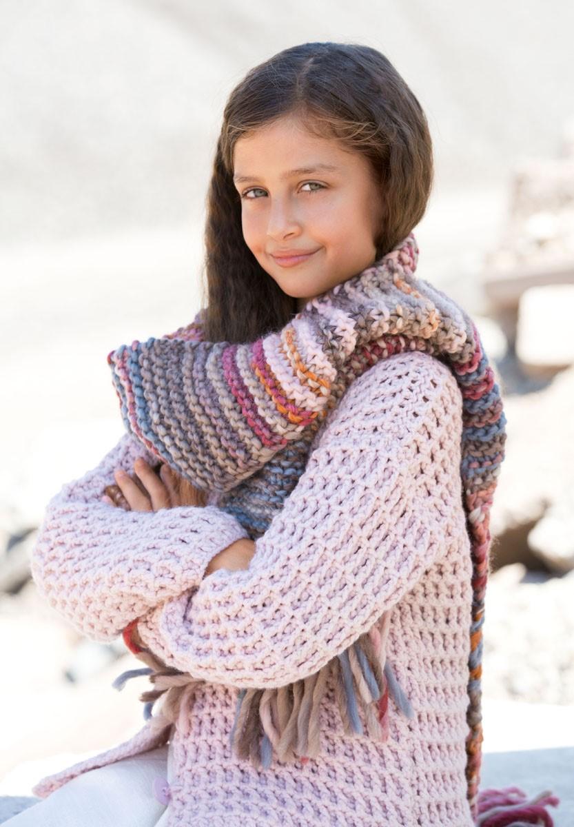 Lana Grossa SJAAL Lei Degradé/Lei Tweed Color