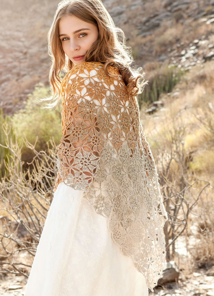 Lana Grossa SCHOUDERDOEK Shades of Cotton Linen
