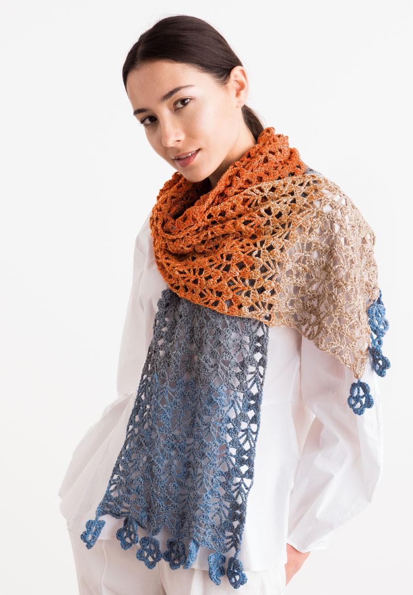 Lana Grossa SJAAL Shades of Merino Cotton