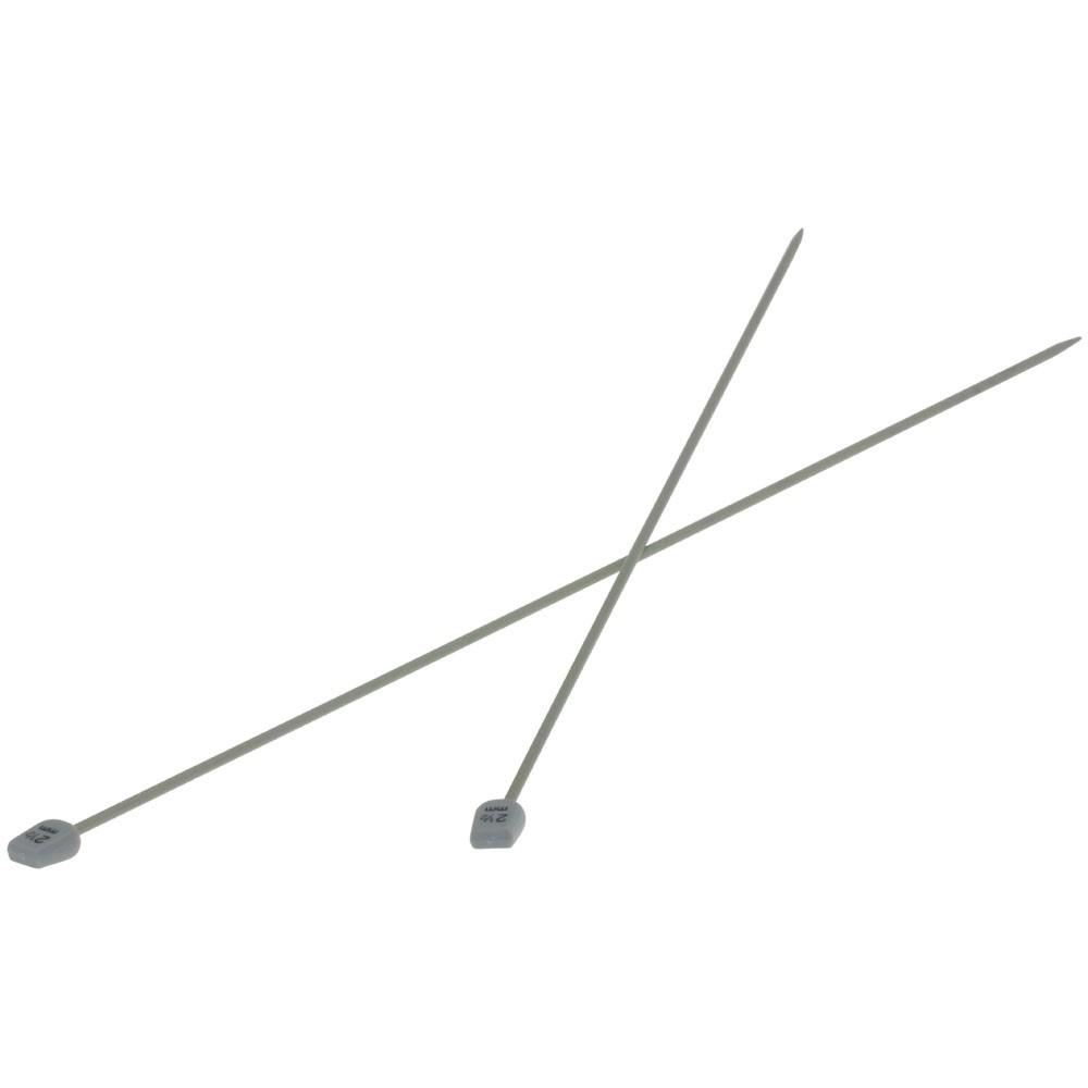 Lana Grossa Breinaalden met Knop Aluminium dikte 2,5