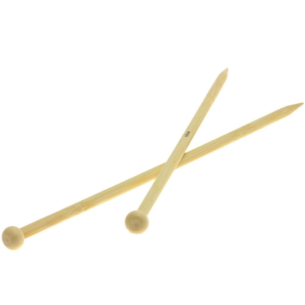 Lana Grossa Breinaalden met Knop Bamboe dikte 8,0