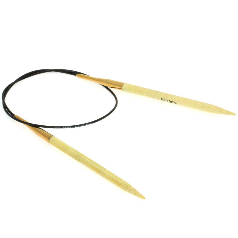 Lana Grossa Rondbreinaalden Bamboe dikte 6,0/60cm