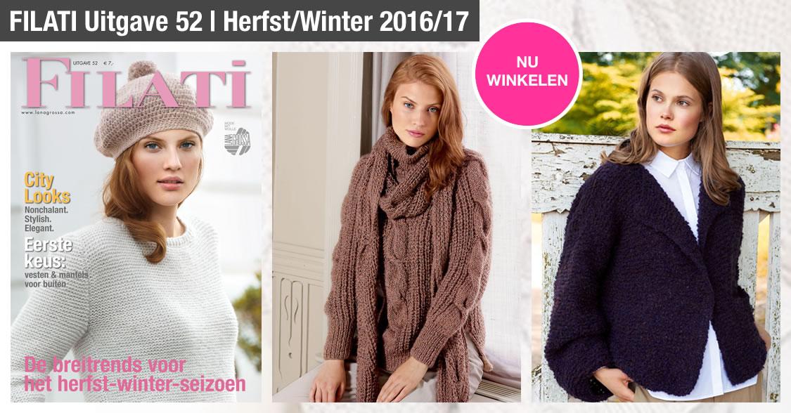 Lana Grossa FILATI Uitgave 52 (Herfst/Winter 2016/17)