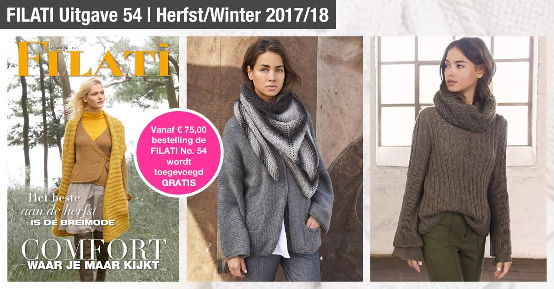 Lana Grossa FILATI Uitgave 54 (Herfst/Winter 2017/18)